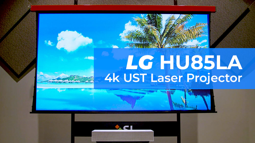 LG HU85LA Ultra Short Throw Projector